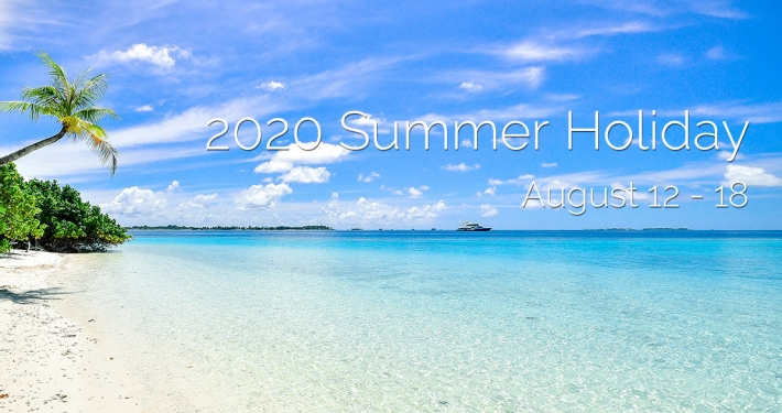 2020 Summer Holiday